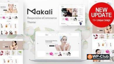 Фото Makali 1.4.1 — тема WooCommerce для любого магазина