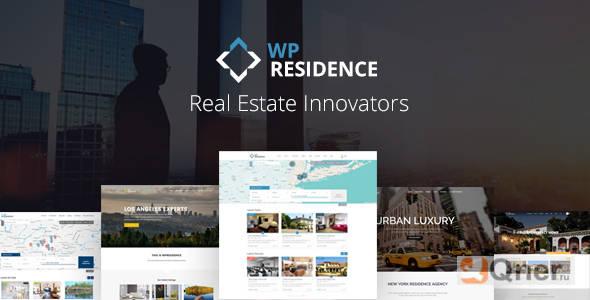 Фото WP Residence 3.5 Nulled — шаблон недвижимости WordPress