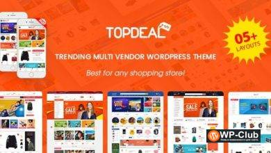 Фото TopDeal 1.9.5 Nulled — тема для электронной коммерции и маркетплейса