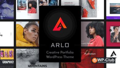 Фото Arlo 3.1 — WordPress тема личного портфолио