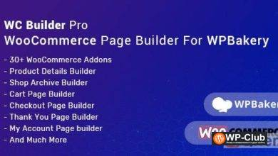 Фото WC Builder Pro 1.0.6 — WooCommerce Page Builder for WPBakery