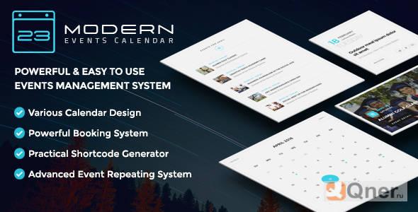 Фото Modern Events Calendar Pro 5.12.0 + аддоны — календарь событий WordPress