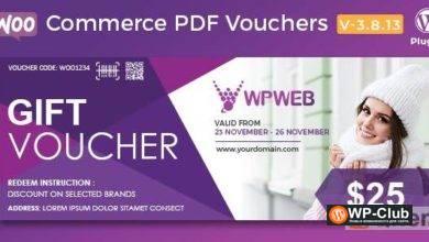 Фото WooCommerce PDF Vouchers 4.2.0