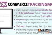 Фото WooCommerce TrackingMore 3.8 — отслеживание товаров WooCommerce