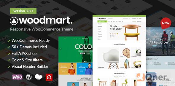 Фото WoodMart 5.3.4 — Отзывчивая тема для WooCommerce