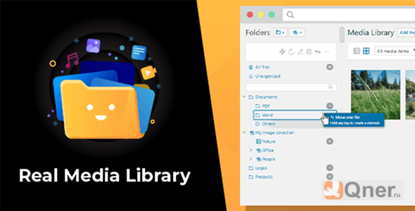 Фото WordPress Real Media Library 4.9.6 Nulled — продвинутый редактор медиафайлов WordPress