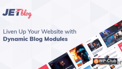 Фото JetBlog 2.2.10 — плагин WordPress для оформления контента стильными виджетами