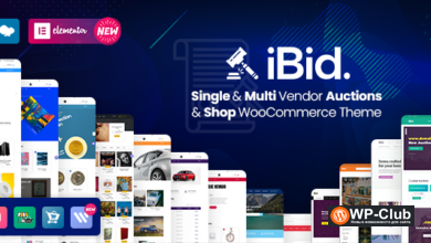 Фото iBid 2.3 — Multi Vendor Auctions WooCommerce Theme