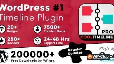 Фото Cool Timeline Pro 3.5.2 NULLED — плагин создания таймлайна WordPress