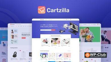 Фото Cartzilla 1.0.6 — WordPress тема магазина цифровых товаров