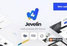 Фото Jevelin 4.8.2 — отзывчивая многоцелевая премиум тема WordPress