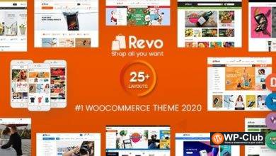 Фото Revo 3.9.4 — многофункциональная тема для WooCommerce WordPress Theme