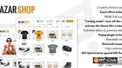Фото Bazar Shop 3.14.0 — Multi-Purpose e-Commerce Theme