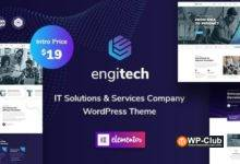 Фото Engitech 1.0.6.1 — WordPress тема IT-решения и услуги