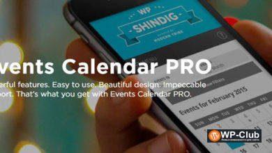 Фото Events Calendar PRO 5.1.5 — календарь событий для WordPress