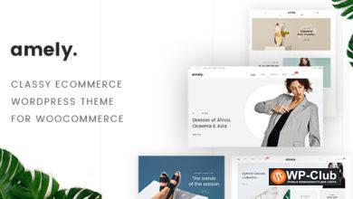 Фото Fashion Amely 2.6.3 — WordPress тема для модного магазин