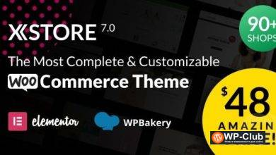 Фото XStore 7.1.3 Nulled — элегантная тема для WooCommerce