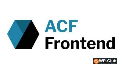 Фото ACF Frontend Form Element Pro 2.7.4 Nulled