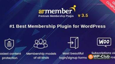 Фото ARMember 4.0.2 Nulled — плагин членства WordPress