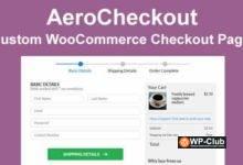 Фото AeroCheckout 2.0.10 Nulled — пользовательские страницы оформления заказа в WooCommerce