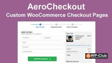 Фото AeroCheckout 2.1.3 Nulled — пользовательские страницы оформления заказа в WooCommerce
