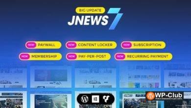 Фото JNews 7.1.1 — новостной шаблон WordPress