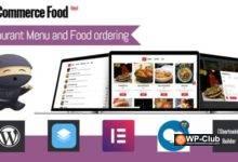 Фото WooCommerce Food 2.0.1 — меню ресторана и заказ еды WooCommerce