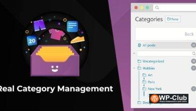 Фото Real Category Management 3.4.0 NULLED — организация категорий WordPress