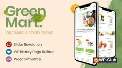 Фото GreenMart 2.5.0 — шаблон магазина еды WooCommerce WordPress