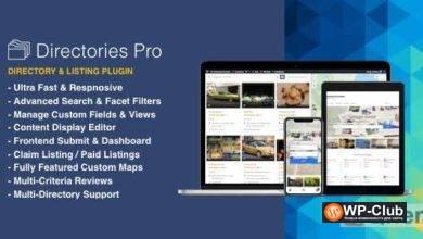 Фото Directories Pro 1.3.39 — плагин каталога для WordPress