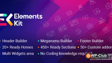 Фото ElementsKit 2.1.3 Nulled — дополнения для Elementor Page Builder
