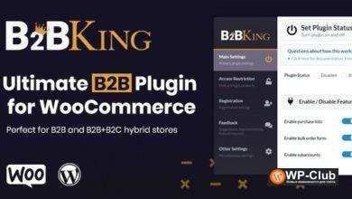 Фото B2BKing 2.3.0 — лучший плагин WooCommerce для B2B и оптовой торговли
