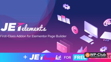 Фото JetElements 2.4.1 — Дополнение для Elementor Page Builder