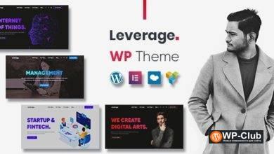 Фото Leverage 2.0.2 — WordPress тема для креативного агентства и портфолио