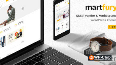 Фото Martfury 2.5.3 — современная и гибкая тема для WooCommerce Marketplace
