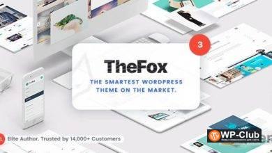 Фото TheFox 3.9.9.9.9 Nulled — универсальная тема WordPress