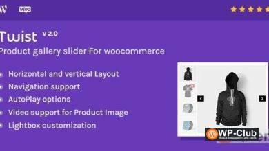 Фото Twist 3.1.3 — Слайдер галереи товаров для Woocommerce