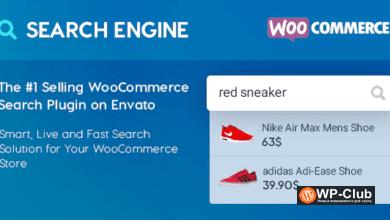Фото WooCommerce Search Engine 2.1.14 — плагин поиска для WooCommerce