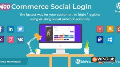Фото WooCommerce Social Login 2.3.0 Nulled