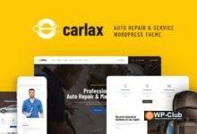 Фото Carlax 1.0.3 — WordPress тема магазина автозапчастей и авто-сервиса