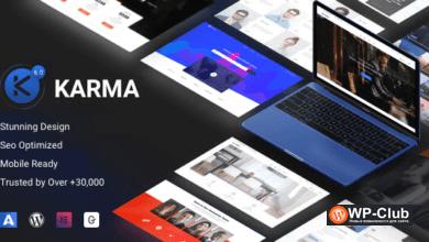 Фото Karma 6.1.4 — адаптивная WordPress тема