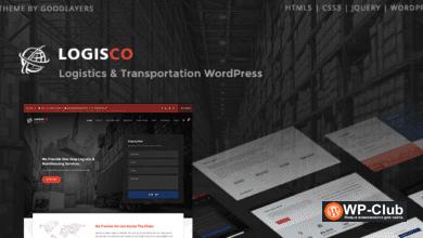 Фото Logisco 1.0.6 — WordPress тема логистики и перевозок