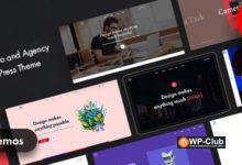 Фото Niro 1.0 — WordPress тема для креативного агентства и портфолио