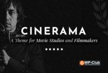 Фото Cinerama 1.8.1 NULLED — WordPress тема для киностудий