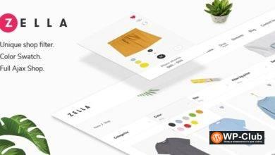Фото Zella 2.2.0 – WooCommerce AJAX WordPress тема