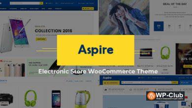 Фото Aspire 4.8 — Электронный магазин WooCommerce WordPress тема