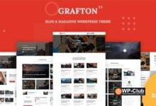 Фото Grafton 1.4 — WordPress тема для блога и журнала