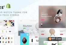 Фото Cize 1.1.8 — тема для магазина электроники на WooCommerce