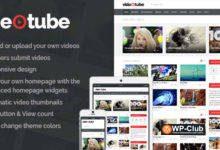 Фото VideoTube 3.2.6 — отзывчивая тема WordPress для видео-портала