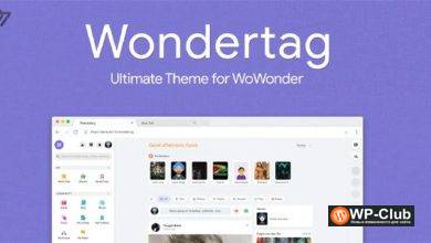 Фото Wondertag 1.1 — The Ultimate WoWonder Theme